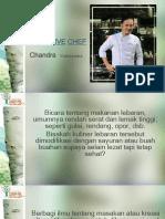 #1 Presentasi QnA Chef Chandra