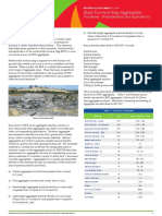 Specification slag aggregates