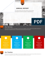 design of business report