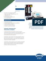 Hiac 8011 brochure