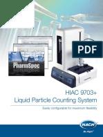 HIAC 9703+ brochure