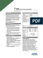 BASF Masterseal 540.pdf