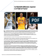 LOs NBA que Tendran que esperar