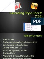 3 Cascading Style Sheets (CSS)