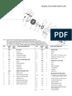 Williams F98 Pump Parts List