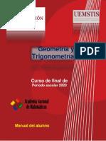 Geometriìa y Trigonometriìa Manual del Alumno