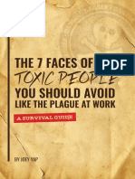 The 7 Faces of Toxic People