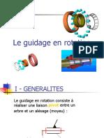 Guidage en Rotation