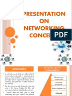 Networking concepts 8th stan