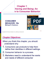Lecture 1 Buying ,having  and being  An  Introduction to Consumer Behavior
