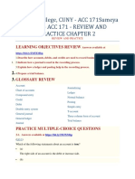 Lehman College, CUNY - ACC 171Sumeya Baker - ACC 171 - REVIEW AND PRACTICE CHAPTER 2 REVIEW AND PRACTICE.
