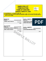 2020 03 31 Sample Ballot