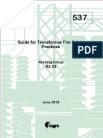 537 Guide For Transformer Fire Safety Practices