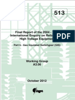 513 International Enquiry on Reliability of High Voltage Equipment Part 5 – Gas Insulated Switchgear (GIS) Practices.pdf