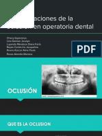 operatoria oclusal