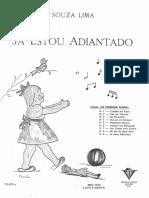 Lima, Souza - Os primeiros passos No_9 Já estou adiantado.pdf