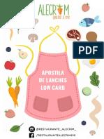 Apostila lanches low carb - ALECRIM (5)