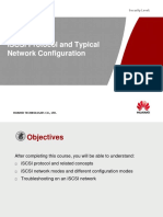 iSCSI Protocol and Typical Network Configuration