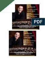 TAMPALINI orchestra gino neri 30 maggio 2015