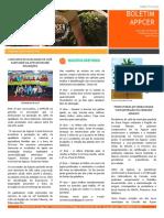 Boletim Appcer 002 AGO Produção de café sustentavel e familiar