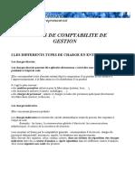 Notions de Comptabilite de Gestion (1)