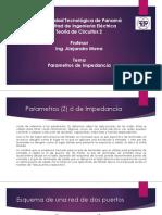 Tema_Parametros (Z) ó de Impedancia- PDF