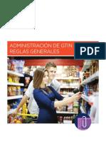 Reglas Generales de Administración de GTIN.