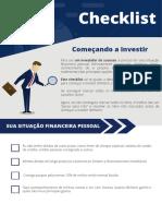 Checklist - Começando a Investir - Andre Massaro