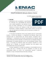 PROJETO INTEGRADOR Edificações, Materiais e Técnicas