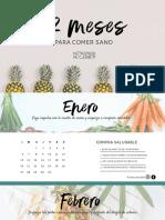 Calendario Nutriendo Mi Cambio 2020