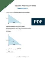 Matematica3 Semana 8 Guia de Estudio Triangulos II Ccesa007