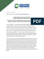 Alaska Seafood Cooperative press release