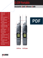 XG-25P Portable Quick Reference Guide (ECR-8071A)