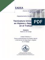 UD4- Tareas Administrativas Del Médico Laboral y Del Servicio de HyST