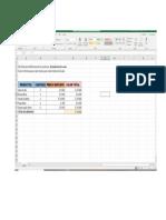 Ejercicio-1 Práctica de Excel