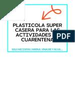 plasticola casera