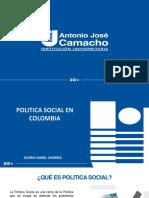 POLITICA SOCIAL EN COLOMBIA
