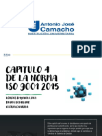 ISO 9001 2015 CAPITULO 4