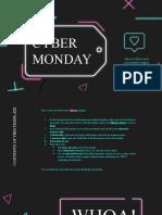 Neon Cyber Monday by Slidesgo