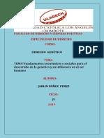 """""""Fundamentos económicos y sociales para el desarrollo de la genética y su influencia en el ser humano.pdf"""