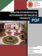 Boletin III Trimestre 19