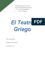 Informe sobre el Teatro Griego - Cristian Mariaca 4° A.docx