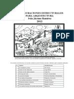 5-Configuraciones Estructurales para Arquitectura-Ivan Jacome-2012