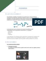 Trabajo química POLÍMEROS