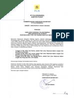 0006 - Surat pemberitahuan Hari Libur Nasional dalam Rangka Hari Kenaikan Isa Almasih, Hari Idul Fitri 1441 H dan Cuti Bersama