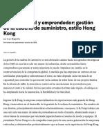 Rápido, global y emprendedor_ gestión de la cadena de suministro, estilo Hong Kong control 1