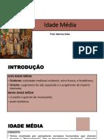 Idade Média aula 1 - slides