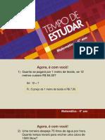 slides matemática 6