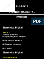 01.Aula1 - Introdução Eletrônica Digital