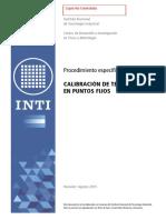 pec03 Procedimiento de termocuplas en puntos fijos